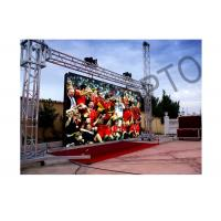 Quality Large High brightness Outside LED Stage Curtain Screen SMD3535 For Concerts wholesale