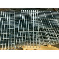 Quality Twisted Galvanized Steel Bar Grating Smooth Flat Surface For Platform / Airport wholesale