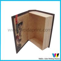 Quality Book Shaped Decorative Cardboard  Paper Packaging Boxes for Gift wholesale