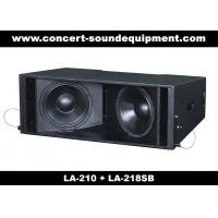 """Cheap 60Hz Disco 680W Line Array Speaker With 1.4"""" + 2x10"""" Neodymium Drivers For Fixed Installation for sale"""
