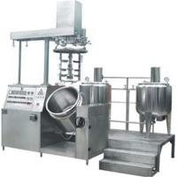 Quality Vacuum emulsifying machine wholesale