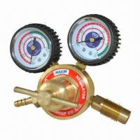 Quality Acetylene Gas Regulator, 0.25 x 2.5MPa (4) Pressure Measuring Range wholesale