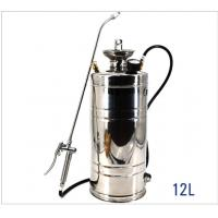 Quality Small Metal Backpack Sprayer , Long Hose Stainless Steel Pump Up Sprayer wholesale