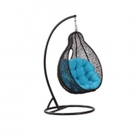 Quality 125cm Height 70cm Depth Outdoor Wicker Hanging Chair Baby Nest Design wholesale