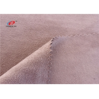China 150CM Warp Knitted Polyester Waterproof Suede Fabric For Lady Shoes on sale