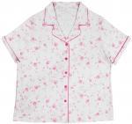 Basic Style Women'S Sleepwear Shorts Sets , Women'S Cotton Sleep Shorts OEM