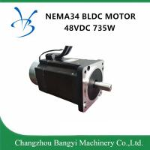 China NEMA34 86bl 48VDC 735W 2nm high speed Brushless DC Motor with Brake on sale