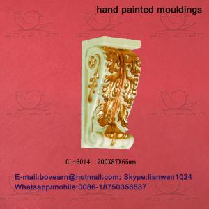 Quality ecorative Polyurethane (PU) Exotic Corbels/PU Foam Cornice Mouldings/PU Caving mouldings F wholesale