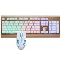 Quality Led Gaming Keyboard And Mouse Combo For Windows 2000 / XP / VISTA / 7 / 8 wholesale