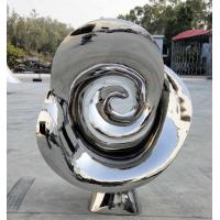 Buy cheap Metal garden flowers sculpture Handmade Polished Metal Outdoor Decoration from wholesalers