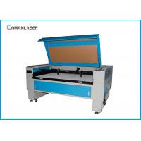 China 1300*900mm Blue And White Autofocus 100w Tube CO2 Laser Cutting Machine For Advertise on sale