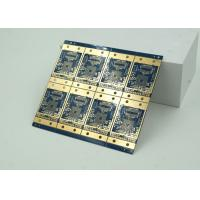 Quality 6 Layer High Frequency, Material HDI PCB Blue Solder Mask  BGA wholesale