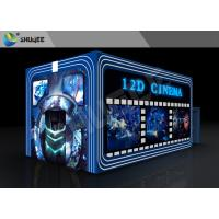 Quality Entertainment Virtual 12D Cinema XD Theatre Cabin With 3DOF Eletric Chairs wholesale