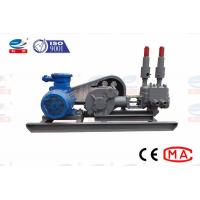 China ZBS Mining Hydraulic Cement Grouting Pump Single Cylinder Double Liquid on sale
