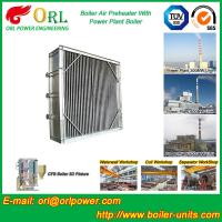 Quality Plate Type Boiler Air Preheater Alloy Steel , Boiler APH Energy Saving wholesale