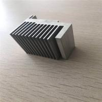 China 3003 CNC Extruded Aluminum Heat Sink Cooling Fin for heat exchanger of vehicle on sale
