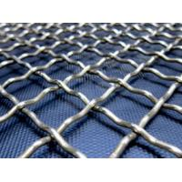 Quality Stainless Steel Crimped Woven Wire Mesh With Anti-Acid, Anti-Alkali, Heat Resistance wholesale