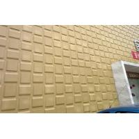 Quality Fire Resistant Cladding 3D Wall Coverings Water Proof Alkaliproof Exterior 3D Wall Panels wholesale