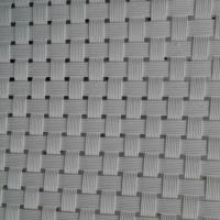 Quality white color Textilene® fabric 8X8 wires PVC coated woven mesh UV fabrics 61