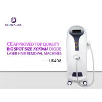 Quality Plug And Play Diode Laser Hair Removal Machine 1 - 138J/cm2 Adjustable Energy wholesale