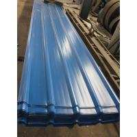 Quality 1500 - 3800mm Length JIS G3322 CGLCC, ASTM A792 Prepainted Corrugated Steel Roof Sheets wholesale