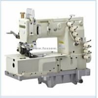 Quality 3-Needle Flat-bed Double Chain Stitch Machine for lap seaming wholesale