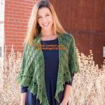 Quality Crochet Woman Poncho, Poncho, woman poncho, poncho wrap, Green Free Knitting Crochet Woman wholesale