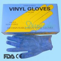 Quality Powdered and powder free 2014 new dispoable vinyl gloves factory wholesale