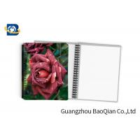 Quality 0.6mm PET Material Personalized Spiral Notebooks  3D Lenticular Stationery wholesale