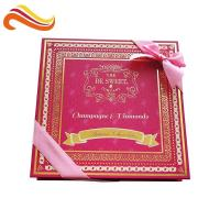 Buy cheap Custom Retail Luxury Chocolate Packaging Boxes Logo Printed Paper With Ribbon from wholesalers