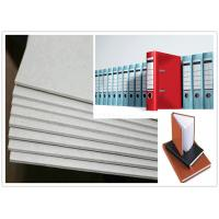 Cheap Roll and Sheets Grey Board / Grey Chipboard for Book Cover / Arch file for sale