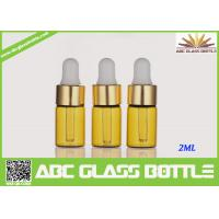 Quality Factory Sale 2ml Amber Tubular Glass Vial Oil Use wholesale