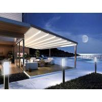 Quality Garden Patio Gazebo Retractable Awning Motor Remote Control System Durable wholesale