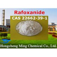 China Rafoxanide CAS 22662-39-1 Pharmaceutical Raw Materials Veterinary Medicine Insecticide on sale