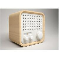 Quality Wood Portable Radio Alarm Bluetooth Speaker FMStereo Wireless Speakers wholesale