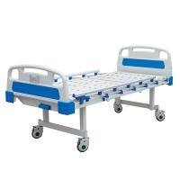 China Hf-818 3 Function Hospital Patient Bed Manual Hospital Folding Bed Stainless Steel on sale
