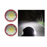 Quality High Intensity 225W Round 9 Inch Driving Lights With Spot / Flood Covers wholesale
