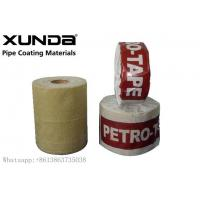 Quality UV Resistance Petroleum Petrowrap Anti Corrosion Tape For Pipe Fitting Flange wholesale