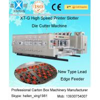 Quality Automatic Carton Box Making Machine With Printing / Slotting And Die Cutting Function wholesale