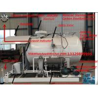 Quality CLW brand 3.2metric tons mobile skid lpg gas refilling plant for sale, 32000kgs auto mobile Propane Skid-mounted plant wholesale