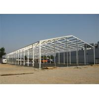 Quality Quick Assembled Prefab Steel Warehouse With Hot Dip Galvanized Frame wholesale