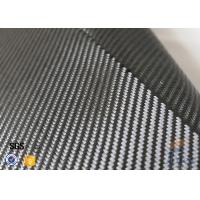 Quality 3K 240g/m2 Carbon Fiber Cloth Silver Coated Fabric Engineering Decoration wholesale