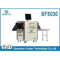 Buy cheap SF5030A X Ray Security Equipment Single Energy 10mm Steel Penetration 40AWG from wholesalers