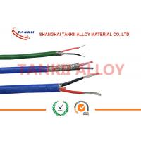 Quality PTFE insulated blue / red thermocouple cable  type JX KX EX with superfine bare wire conductor wholesale