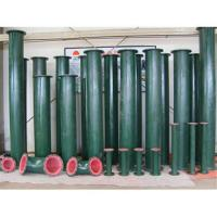Buy cheap Corrosion resistance rubber lined pipe for petrochemical engineering from wholesalers