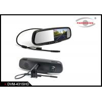 Quality 1,000cd / M² Rear View Mirror Backup Camera With Dual Lens Video Recording wholesale