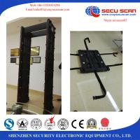 Quality Movable Walk Through Metal Detector Door Security Devices With Face Recognition System wholesale