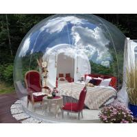 Quality Transparent Outdoor Inflatable Bubble Tent For Camping Digital Printing wholesale