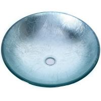 Quality Artificial Glass Type Wash Basin / Glass Basin Round Model Carton Packing wholesale