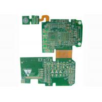 Quality Controller Rigid Flexible PCB Printed Circuit Board with BGA / Fids / PTH Vias wholesale